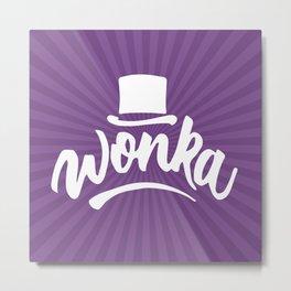 Wonka Metal Print
