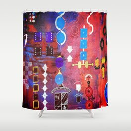 components Shower Curtain