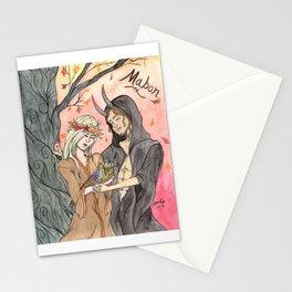 Mabon Couple Stationery Cards