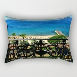 Carlton Hotel Cannes Rectangular Pillow