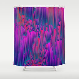 Lucid - Pixel Art Shower Curtain