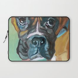 Drako the Rescued Boxer Laptop Sleeve