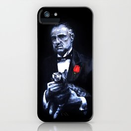 Don Vito Corleone The Godfather iPhone Case