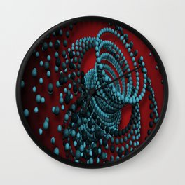 3d graphic Wall Clock