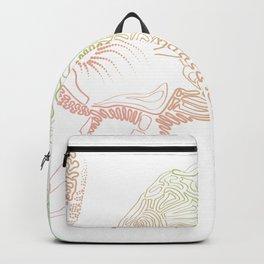 Elephant freqency Backpack