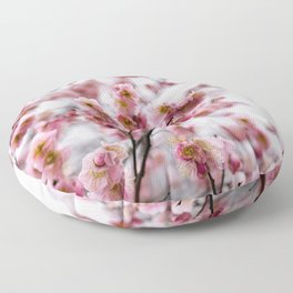 The First Bloom Floor Pillow