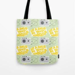 Twin Peaks Let a Smile Be Your Umbrella Tote Bag