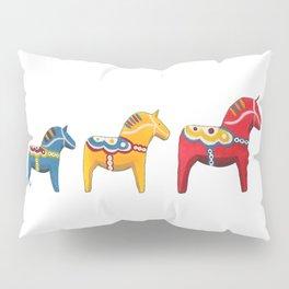 Dala horses Pillow Sham