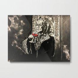 Vampire King Metal Print