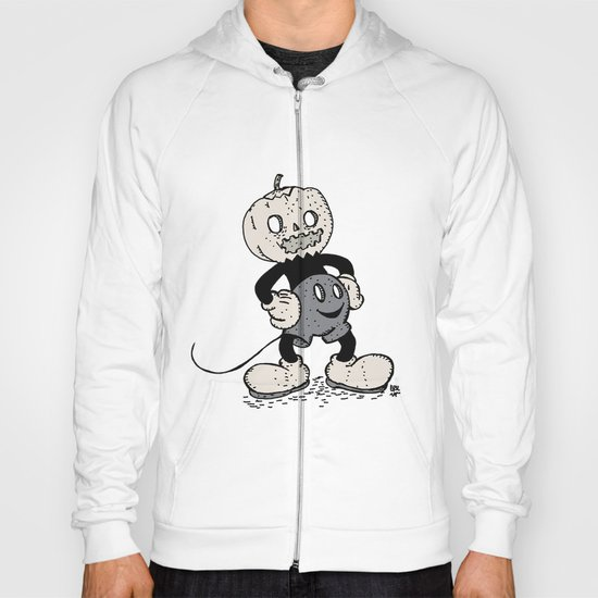 Mickey Pumpkin (desaturated) Hoody