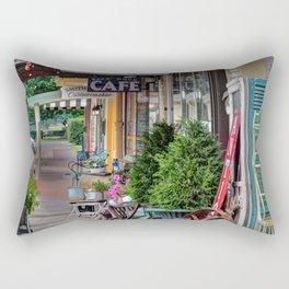 Antique Shops Rectangular Pillow