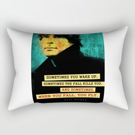 Neil Gaiman Quote Rectangular Pillow