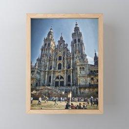 Santiago de Compostela Framed Mini Art Print