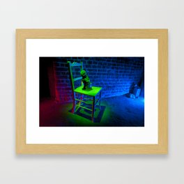 Wind Up Framed Art Print
