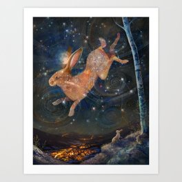 Brother In The Sky Art Print
