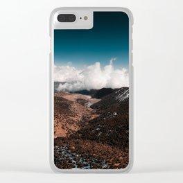 Adventure unfolds Clear iPhone Case