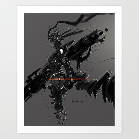 CyberGen Mechanic Art Print