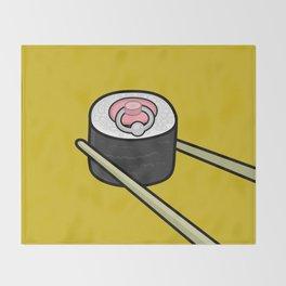 Pierced Nipple Maki Throw Blanket