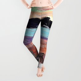 Tom Thomson - Landscape with Snow - Digital Remastered Edition Leggings