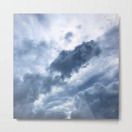 Troubled Skies Metal Print