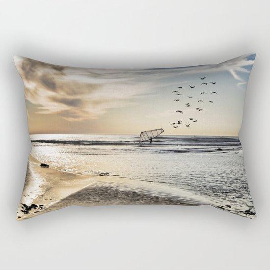 As Far As the Eye Can See Rectangular Pillow