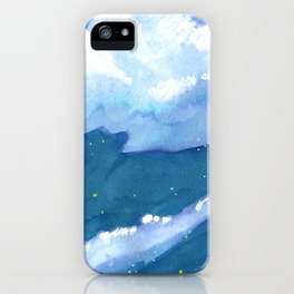 chunk of sky #1 iPhone Case