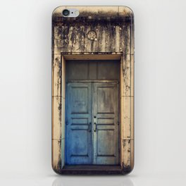 Doors are made to be Open! iPhone Skin