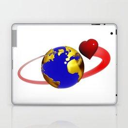 love is all around, #hatetolove Laptop & iPad Skin