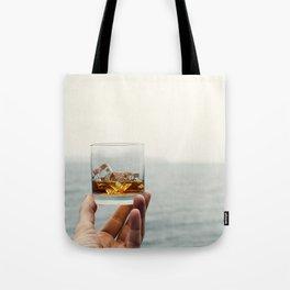 Sea Salute Whiskey Rocks Tote Bag