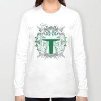 boba Long Sleeve T-shirts featuring Boba Tatt by Matthew Bartlett