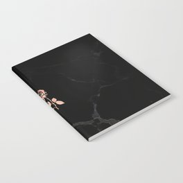 Forever Petal (Black Rose) Notebook