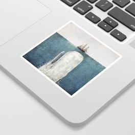 The White Whale Sticker