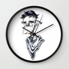 Frankenstein Hipster Wall Clock