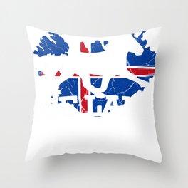 Iceland Reykjavík Icelandic Island Icelandic Throw Pillow