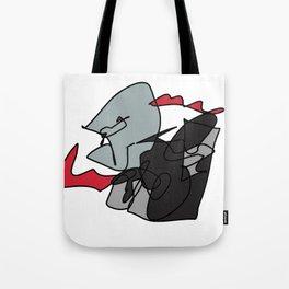 Elderly Assassin Tote Bag