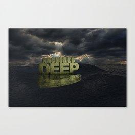 Anchored Deep 1 Canvas Print