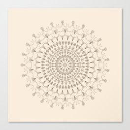 Kaleidoscope Skulls Canvas Print