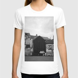 Cityscape and Houses of Brussels T-shirt