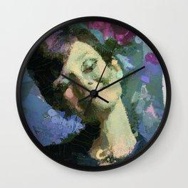 Happy :) Wall Clock