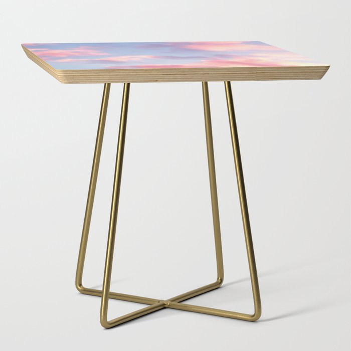 Whimsical Sky Side Table