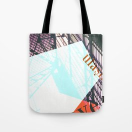 Story of the Roads - 1 Tote Bag