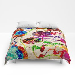 Abstract Expressionism 2 Comforters