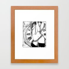 asc 491 - La parque joyeuse (The cheerful fate) Framed Art Print