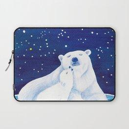 Polar bears, arctic animals Laptop Sleeve