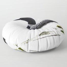 June Loon Floor Pillow
