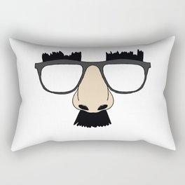 Silly Glasses Rectangular Pillow