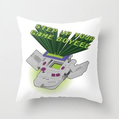 Step Up Your Game Boyeee Throw Pillow