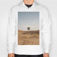 desert Hoodies featuring Desert  by Gerard Puigmal