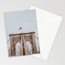 New York City V / Brooklyn Bridge Stationery Cards
