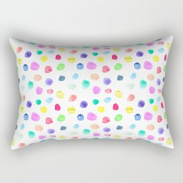 Watercolor confetti Rectangular Pillow